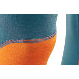 Aclima M's LightWool Reinforced Long Pants Tapestry/Orange Popsicle